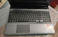 "Sony Vaio SVE151G17M 15.6"" Palmrest w/ Touchpad +Keyboard+bottom cover +Battery"