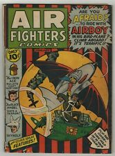 Air Fighters (1941) Vol 1 #4 Japanese War Airboy Cover Diamond Run COA APP GD/VG