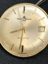 Vintage Baume & Mercier Eta 2472 Edox Automatic Movement For Parts