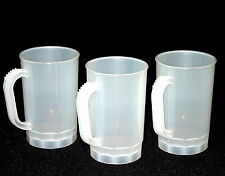 Beer Steins, Mugs, Pack 12, Size 1 Pint, Color Frosted, Mfg. USA Lead Free