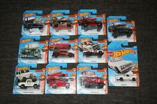 Bundle Of 11 Hot Wheels Trucks Land Rover Ford Mazda VW Joblot New & Sealed