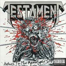 Return To The Apocalyptic City (Ep) - Testament - CD New Sealed