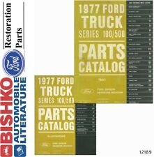 1977 Ford Truck 100-500 Series Parts Numbers Book List CD Interchange Images