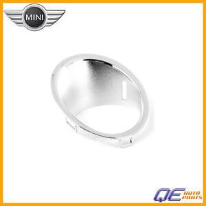 Trim Ring - Fog Light (Chrome) Genuine Mini For Mini Cooper 07 2008 2009 2010 11