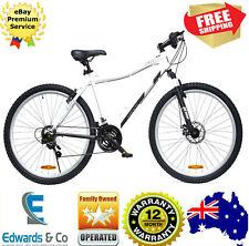 70cm Boys Men Bike Cycling 21 Speed Front Suspension Disc Brake Black White