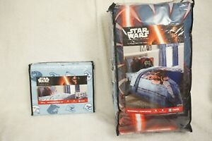 Star Wars Comforter  Plus Twin Sheet Set  Brand New in Sealed Package