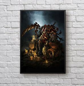 Darksiders War video game artwork poster