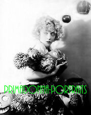 MAE MURRAY 8X10 Lab Photo B&W 1920s PAINTED PUMPKINS, AUTUMN GLAMOUR PORTRAIT
