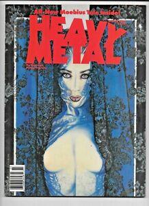 Heavy Metal Magazine Vol 14 #1 March 1990 Moebius Olivia Rubio FN 1977 Series