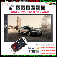 Car Radio Stereo 2DIN BT Touch Screen MP5 Player/USB/TF/AUX Head Unit