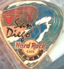 Hard Rock Cafe SAN DIEGO 2012 POSTCARD Series Guitar Pick PIN Post Card #67920