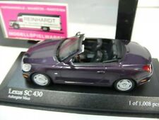 1/43 Minichamps Lexus SC 430 auberginemetallic