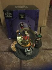 neca nightmare before christmas santa jack jack skellington snow globe new 2002 - Nightmare Before Christmas Snow Globes