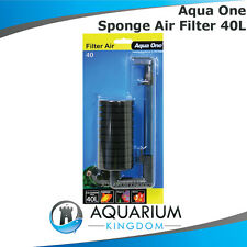 #19890 Aqua One FilterAir 40 Aquarium Breeding Sponge Air Filter Small Fish Tank