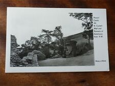 Lot01g PEVERIL CASTLE A6 N. Curtain Wall & Gatehouse Ministry of Works Postcard