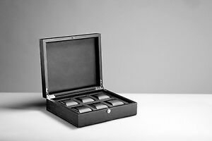 Premium watch box for 6 watches made from solid wood! Brand new!