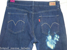 Levis Jeans 12M Mid Rise Skinny RARE Acid Washed Red Tab Clean Excellent