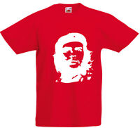 Che Guevara inspired Kids Printed T-Shirt Short Sleeves Boys Girls Cotton Tee