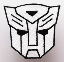 """TRANSFORMERS """"Transformer Logo"""" - Embroidered Iron-On Patch- NEW"""