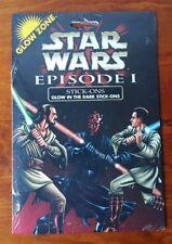 Vintage Glow Zone Star Wars Episode 1 Glow In The Dark Stick-Ons Stickers