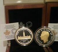 2017 Parliament Canada Peace Tower 2OZ Silver Renewed Dollar Coin: Royal Visit