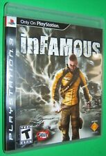 PS3 INFAMOUS Video Game complete