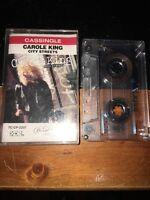 CAROL KING CITY STREETS CASSINGLE Cassette Tape