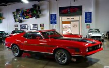 1971 Ford Mustang Mach 1 24X36 inch poster, sports car, muscle car