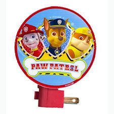 Nickelodeon PAW PATROL Marshall Chase Rubble Night Light Lamp NEW