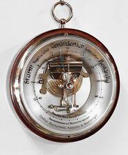 ✅ 08 Wandbarometer mit offenem Werk um 1920 ✅