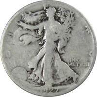 1927 S Liberty Walking Half Dollar 90% Silver 50c US Coin Collectible
