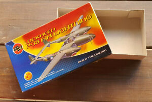Airfix Box Of Model Empty Lockheed P-38 F/H Lightning Scale / Ladder 1/72