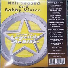 LEGENDS KARAOKE CDG NEIL SEDAKA AND BOBBY VINTON OLDIES 124 17 SONGS CD+G MUSIC