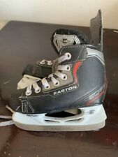 Easton Eq10 Synergy Ice Skates Boys Youth Size 10Y Hockey Skates