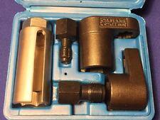 5pc Oxygen O2 Sensor Socket Vacuum Remover/Installer Thread Chaser Hand Tool Kit