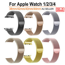 Apple Watch Milanese Watch Band Strap Bracelet Loop For iWatch Series 5/4/3/2/1