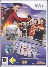 Nintendo Wii «BALLS OF FURY» nuovo sigillato italiano pal