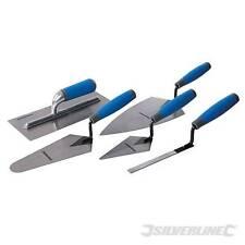 Pro Silverline Agarre Suave Paleta Set mano ladrillo enyesado 5PC Builder apuntando