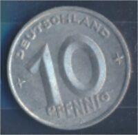 DDR Jägernr: 1503 1949 A Stgl./unzirkuliert 10 Pfennig Ähre auf Zahnrad (7849382