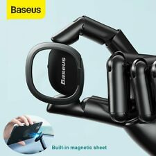 Baseus Magnetic Phone Holder Ultra Thin Mount Finger Ring Stand For Cell Phone