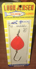 Vintage Luhr Jensen Salmon Lures Egg Wobbler Size 1 Fluorescent Orange