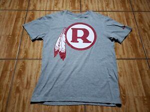 Nike Washington Redskins Short Sleeve Shirt Adult Large Gray Football Mens