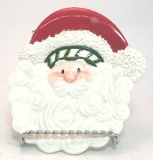 Fitz & Floyd Christmas Stocking Stuffers Candy Dish Tidbit Tray Santa
