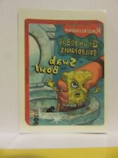 Wacky Packages, 2015, Spongebob Squarepants, chase card, Topps, Temporary Tattoo