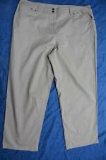 Target Options plus kHAKI JEANS Size 24 NEW RRP$49.99 Wide Straight Leg. STRETCH