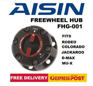 AISIN  FREEWHEEL HUB FITS RODEO COLORADO, JACKAROO, D-MAX, MU-X  FHG-001