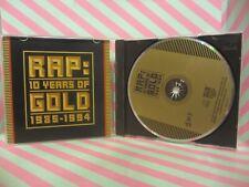 RAP 10 Years Of Gold 1985-1994 CD KURTIS BLOW run dmc TRIBE CALLED QUEST