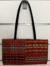 Vera Bradley Silk Collection Shoulder Bag in Red Plaid