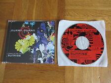 DURAN DURAN (Reach Up For The) Sunrise OOP 2004 EUROPEAN CD single Know It All