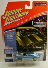 1970 '70 CHEVY CAMARO Z28 BLUE MUSCLE CARS USA DIECAST JOHNNY LIGHTNING JL 2017